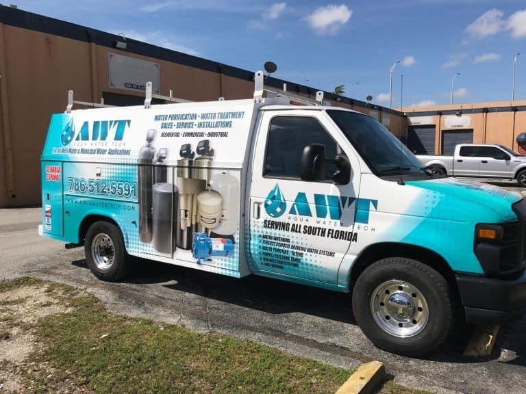 aqua water tech vehicle