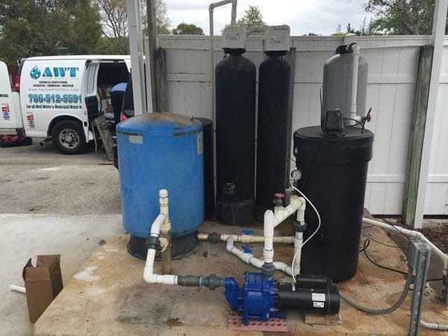 Outside Water Filtration System
