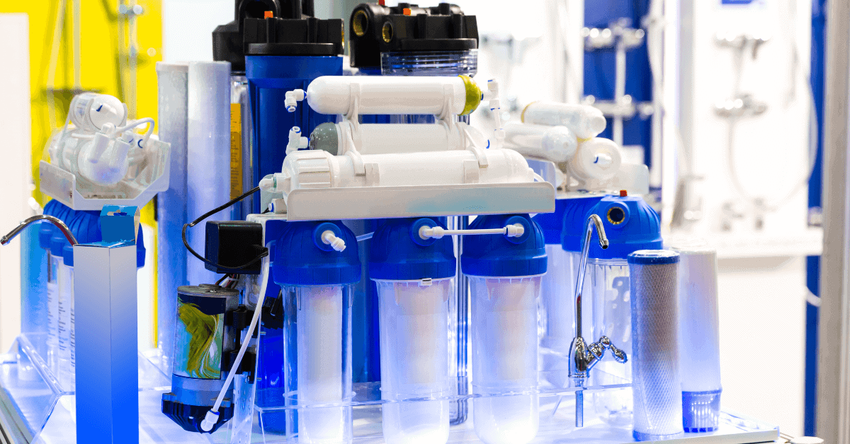 reverse osmosis water cleaning filter