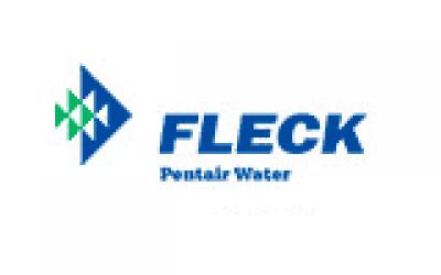 fleck pentair water logo